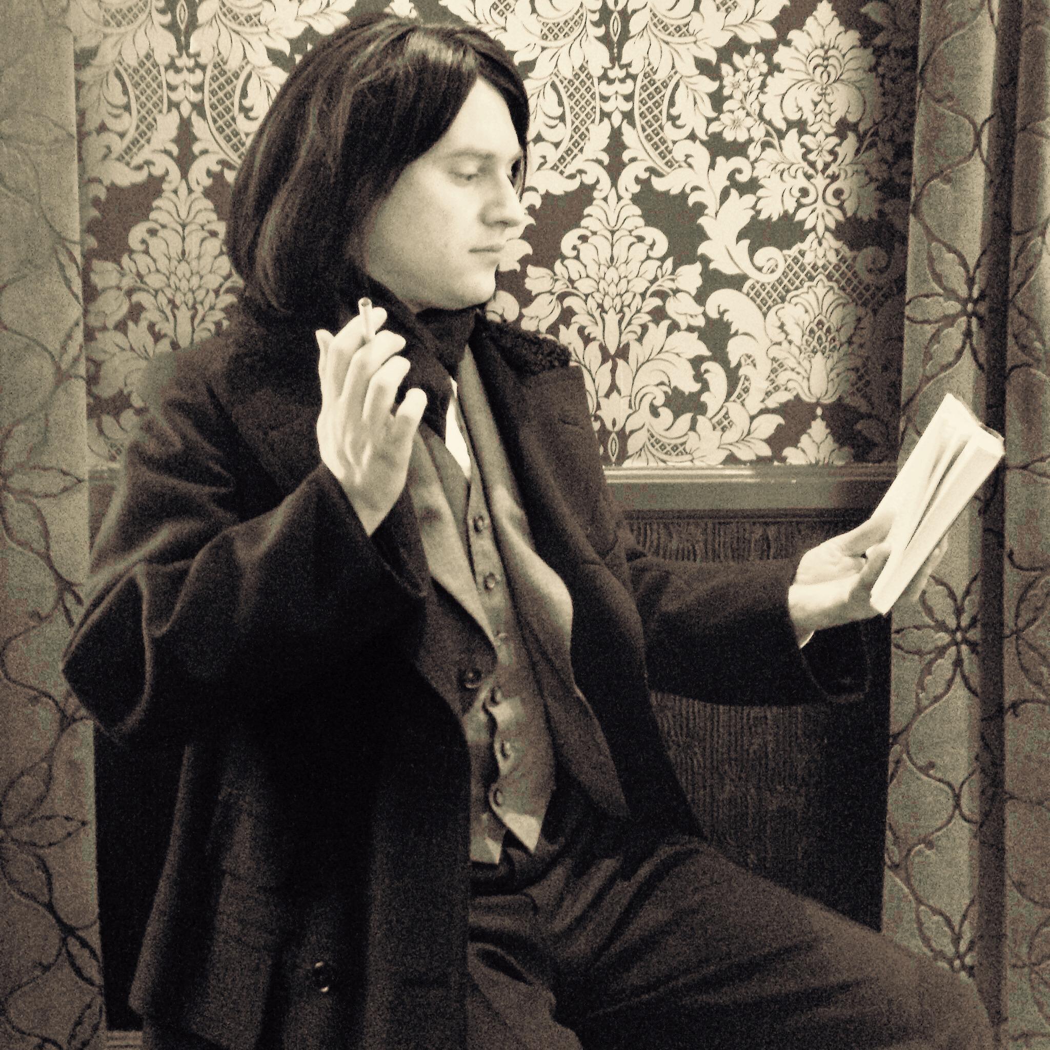 Philip as Oscar Wilde